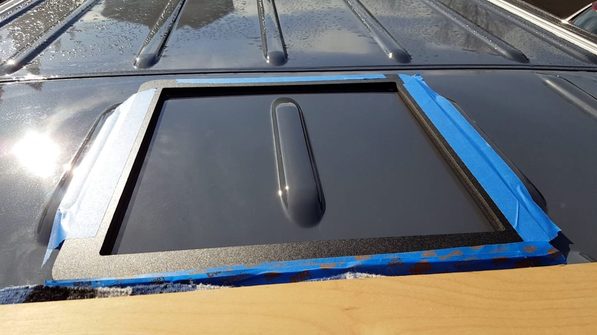 Maxxair Vent Fan Install on a Sprinter van   OurKaravan
