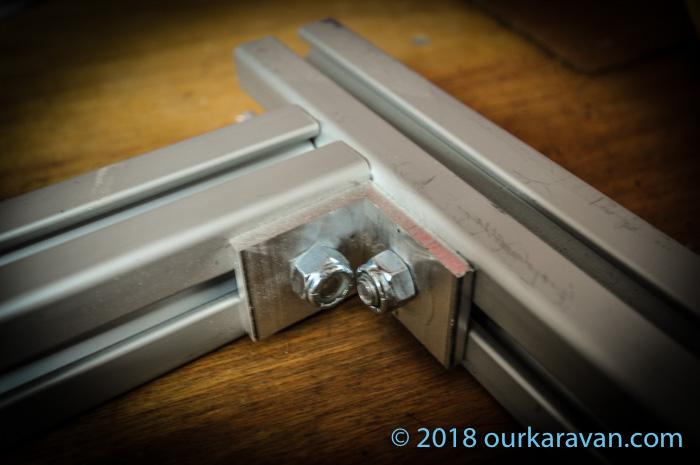 80/20 Extruded Aluminum Van Cabinets | OurKaravan
