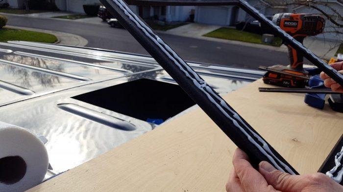 Maxxair Vent Fan Install on a Sprinter van | OurKaravan