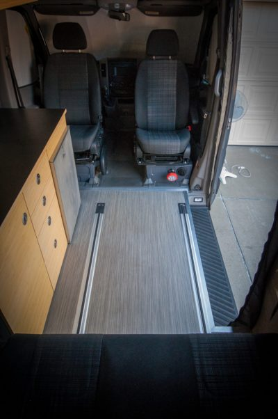 Van Design - Choosing a Layout for your Adventure Van
